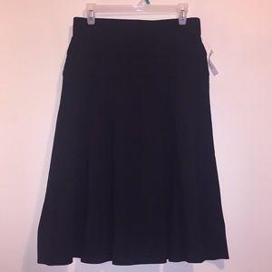 🆕NWT Dressbarn Black A-Line Swing Skirt